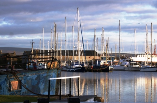 Glasson Dock in Lancashire - photo Zoe Dawes