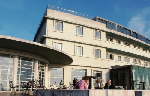 Art Deco Midland Hotel in Morecambe Lancashire - photo Zoe Dawes