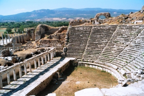 Aphrodisias Amphitheatre Turkey - photo zoedawes